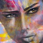 "Alexandra - 60"" x 48"" - Acrylic on Canvas"
