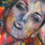 "You are Mine - 48"" x 60"" - Acrylic on Canvas"