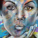 """Innocence - 48"""" x 36"""" - Acrylic on Canvas"""