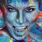 "Gotcha - 48"" x 60"" - Acrylic on Canvas"