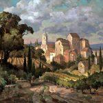 "Tuscany Grandeur - 36"" x 48"" - Oil on Canvas"