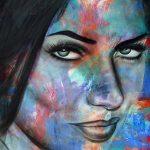 """Adrianna - 60"""" x 48"""" - Acrylic on Canvas"""