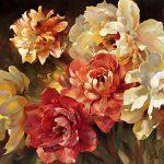 """Peony Bouquet- 30"""" x 40"""""""