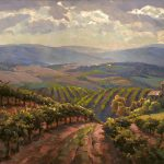 "Tuscany Splendor - 24"" x 48"" - Oil on Canvas - Available as Hand Painted Multiple Original Ltd. Ed"