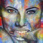 "Understanding - 60"" x 48"" - Acrylic on Canvas"