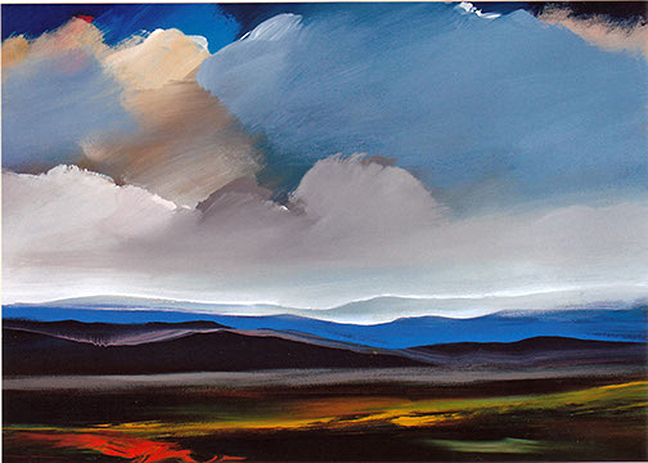 "Heaven's Light - 36"" x 48"" - Acrylic on Canvas"