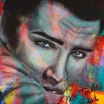 """Love Me Tender - 60"""" x 48"""" - Acrylic on Canvas"""