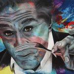 Robert DeNiro-48 x 60 - Acrylic on Canvas Available as Hand Painted Multiple Original Ltd. Ed.